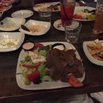 Delicias appetizer and Gyros platter
