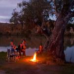 Campfire on the Murray River