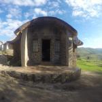 Die Hütte, in der wir untergebracht waren.