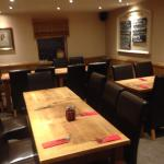 The top dining room, recently refurbished and ready to go