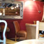 Inside the coffee lounge