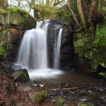 waterfalls at lumsdale by swift314