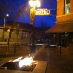 fire pit street side