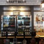 Cask ales and Craft beers