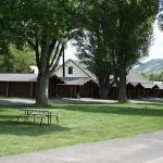 Kudar Motel and Cabins, two blocks north of Town Square in Jackson, Wyoming