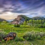 A verdant spring at The Ranch at Rock Creek