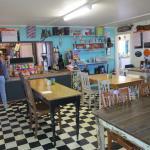 Inside the roadhouse