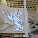 Foyer with amazing artwork