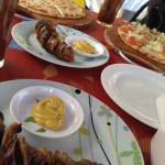 Bratwurst, Panglao Sausage, Cheese Pizza, Vegetarian Pizza