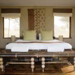 Your bedroom at Sayari Camp