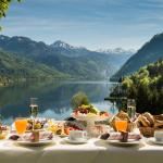 Restaurant SEEBLICK - Breakfast with the most beautiful view of the Alps
