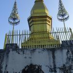 Wat Chom Si (Chomsey Hill) and stupa are both situated.