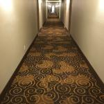 new carpet in hallways