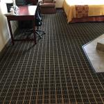 new carpet in rooms
