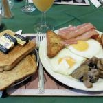 A typical full breakfast