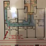 Floor plan and my room location