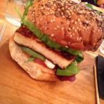 Great halloumi and avocado burger! Huge quantities and great price!