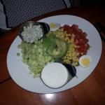 Cobb salad was very good