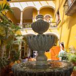 Fountain near lobby area