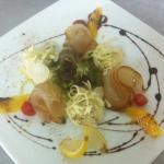 smoked marlin & heart of palm salad