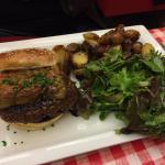 foie gras burger!