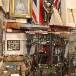 Queen Victoria's Chair, armour, Japanese swords and ammunition