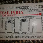 Royal India Restaurant Patong Foto