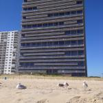 Century I building, view from the beach..