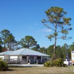 As you head west to Cedar Key, the restaurant is on your right. It is easy to sail right by.