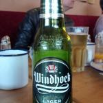 LA bière namibienne ... un des rares endroits où on peut l'apprécier en France avec La Pomme d'E