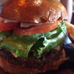 Beef burger - black salt