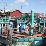 Fishing boats at Fishing Village
