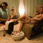 pedicures and manicures