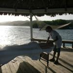 massage at our palapa