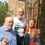 Your reviewer with Giorgio and Simonetta Da La Cia