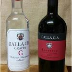 A bottle of grappa, and one of Classico; both divine!
