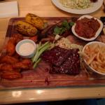 Big Boy Platter - Ribs, Wings, Pulled Pork, Smoked Brisket and more