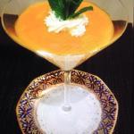 Panna Cotta mit Mango Gelee
