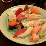 Sushi Platter at Wasabi House