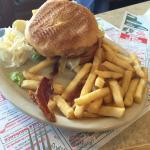Black Forest burger