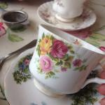 Vintage Tea Set...busy Tea Room but could do with clean crockery!