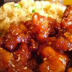 Sesame Chicken, all white meat