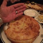 Huge chicken pot pies