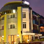 The Main Building Of Hotel Prabhupada
