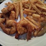 Beer Battered Shrimp Dinner