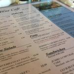 Backfin Blue Cafe - kids are payin ;)