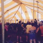 Saturday night Band in the Tent