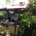 Cafe Claro -- entrance is located approx. 200' to right looking at Janets Market