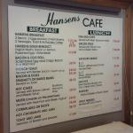 Foto de Hansen's Cafe