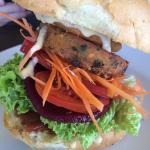 Veggie burger - absolutely delicious!